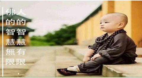 人的智慧有限,佛的智慧無限
