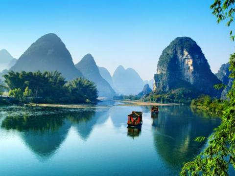 佛教與人生 - 四十年後重遊桂林