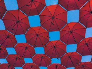 我原來從沒帶著那把傘